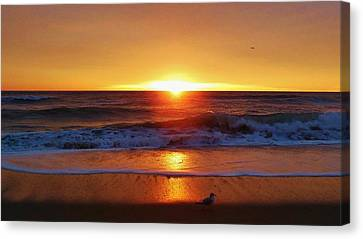 Hatteras Island Sunrise 3 12/15 Canvas Print by Mark Lemmon