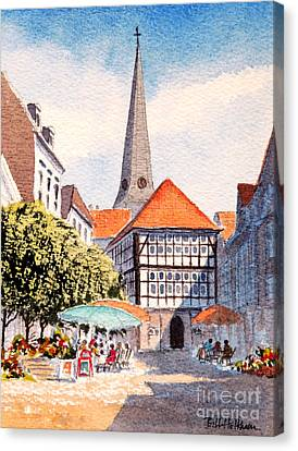 Hattingen Germany Canvas Print by Bill Holkham