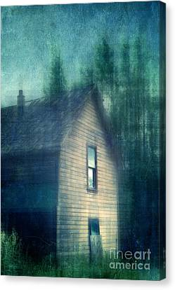 Haunted By The Past Canvas Print by Priska Wettstein