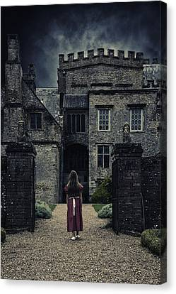 Haunted House Canvas Print by Joana Kruse