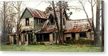 Haunted Canvas Print by Marty Koch