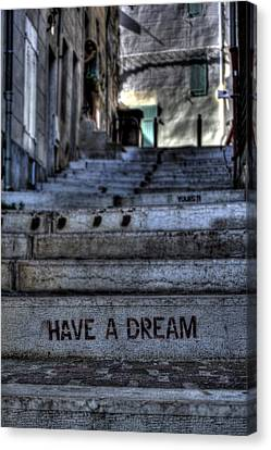 Have A Dream Canvas Print by Karim SAARI