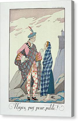 Have No Fear Little One Canvas Print by Georges Barbier