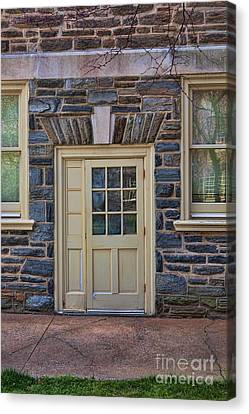 Haverford College Door Canvas Print by Kay Pickens