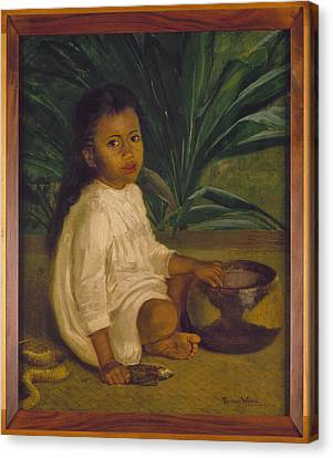 Hawaiian Child, 1901 Canvas Print by Granger