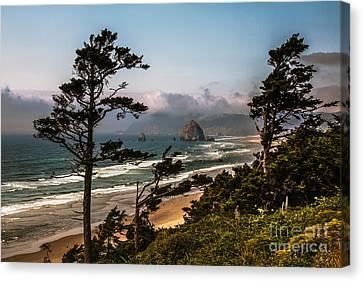 Haystack Framed Canvas Print by Robert Bales