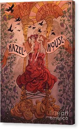 Hazel House Canvas Print by Ethan Harris