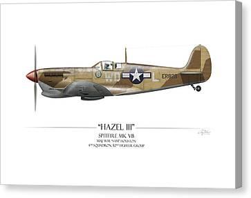 Hazel IIi Spitfire Mkv Canvas Print by Craig Tinder