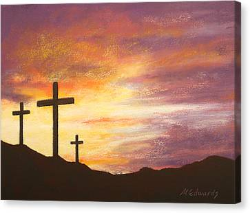 He Is Risen Canvas Print by Marna Edwards Flavell