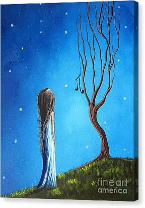 He Still Loves Her By Shawna Erback Canvas Print by Shawna Erback