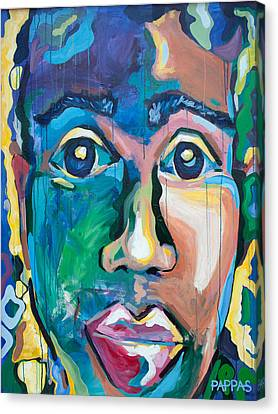 Head 1.0 Canvas Print by Julia Pappas