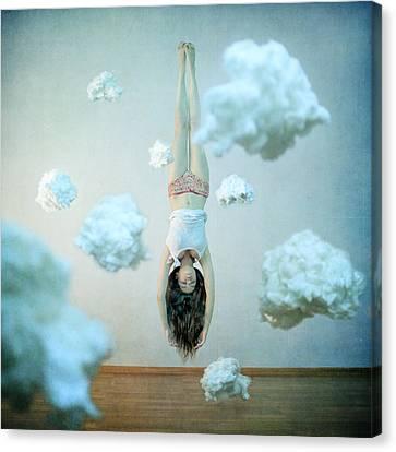 Head In The Clouds Canvas Print by Anka Zhuravleva