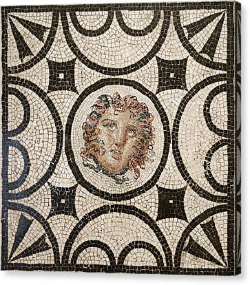 Head Of Medusa Canvas Print by Unknown