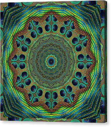 Healing Mandala 19 Canvas Print by Bell And Todd