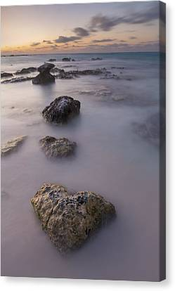 Heart Of Stone Canvas Print by Adam Romanowicz