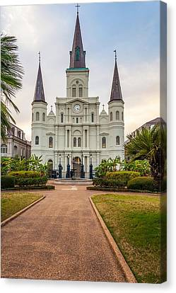 Heart Of The French Quarter Canvas Print by Steve Harrington