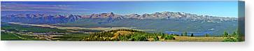 Heart Of The Sawatch Panoramic Canvas Print by Jeremy Rhoades