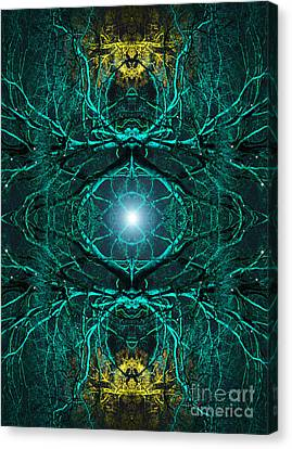 Heart Wood Canvas Print by Tim Gainey