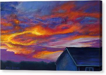Heartland Canvas Print by Abbie Groves