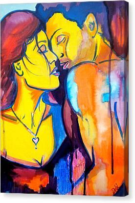 Heart's Desire Canvas Print by Debi Starr