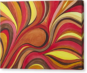 Heat Canvas Print by Julie Myers