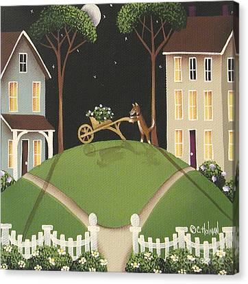 Heather Glen Canvas Print by Catherine Holman