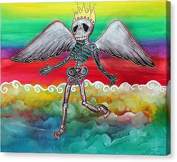 Heaven Is For Real Canvas Print by Laura Barbosa