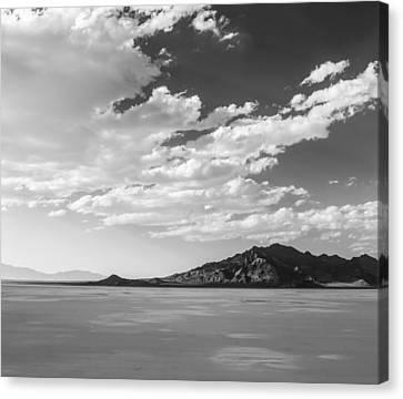 Heaven On The Salt- Bonneville Salt Flats Canvas Print by Holly Martin