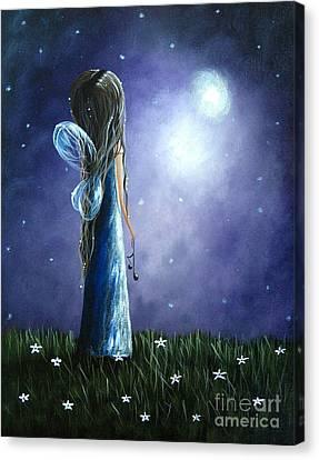 Heaven's Little Helper By Shawna Erback Canvas Print by Shawna Erback