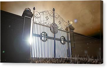 Heavens Open Gates Canvas Print by Allan Swart