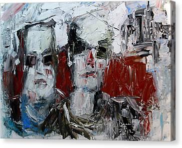 Heavys Canvas Print by Jim Vance