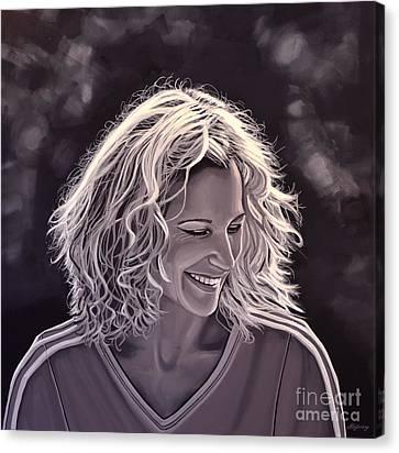 Heike Henkel Canvas Print by Paul Meijering