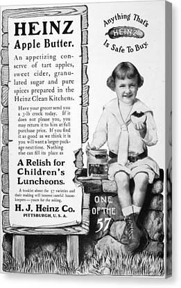 Heinz Apple Butter Canvas Print by Granger