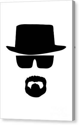 Heisenberg Breaking Bad Canvas Print by Unknow