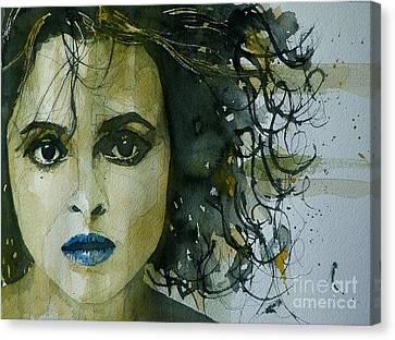 Helena Bonham Carter Canvas Print by Paul Lovering