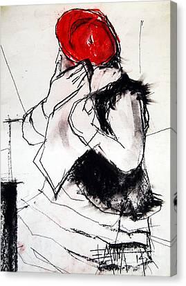 Helene #1 - Figure Series Canvas Print by Mona Edulesco