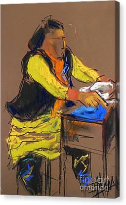 Helene #5 - Figure Series Canvas Print by Mona Edulesco
