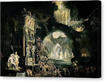 Hell Canvas Print by Francois de Nome