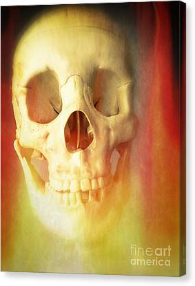 Hell Fire Canvas Print by Edward Fielding