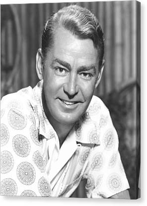 Hell On Frisco Bay, Alan Ladd, 1955 Canvas Print by Everett