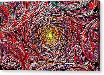 Hellooooo-oooo-ooo-oo-o Canvas Print by Janet Russell