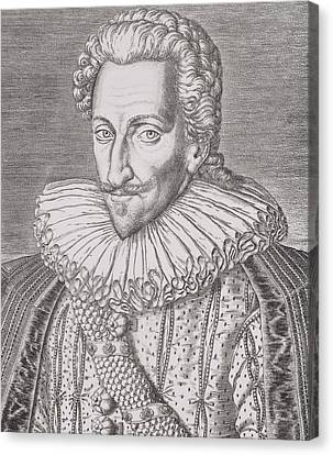 Henri Iv Canvas Print by Theodore De Bry