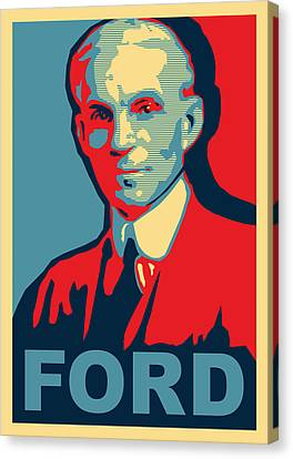 Henry Ford Canvas Print by Design Turnpike