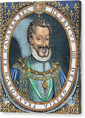 Henry Iv Of France 'the Great' Canvas Print by Prisma Archivo