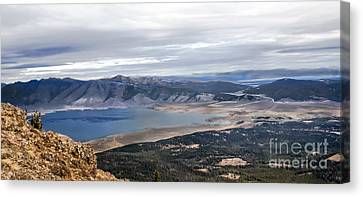 Henry Lake Canvas Print by Robert Bales