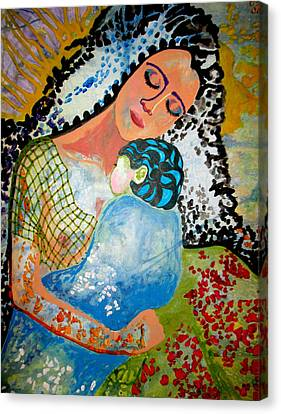 Her Love Canvas Print by Amy Sorrell