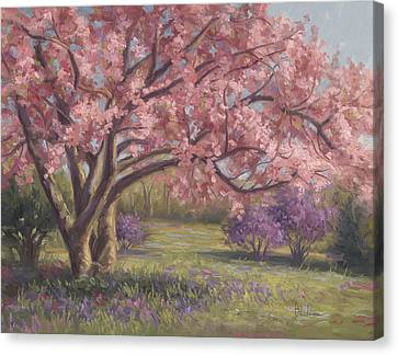 Here's The Spring Canvas Print by Lucie Bilodeau