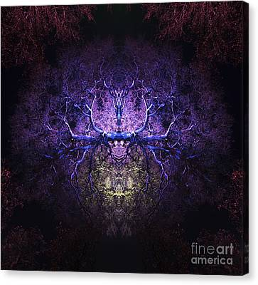 Herne The Hunter Canvas Print by Tim Gainey