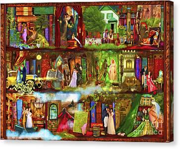 Heroes And Heroines Canvas Print by Aimee Stewart