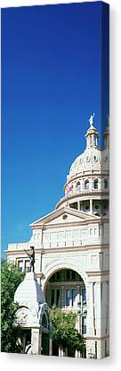 Heroes Of The Alamo Memorial Canvas Print by Panoramic Images